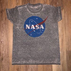 grey NASA shirt
